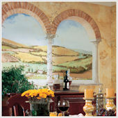 Tuscan View XL Wall Mural