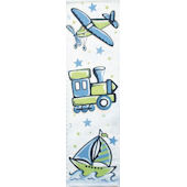 Blue and Green Transportation Growth Chart