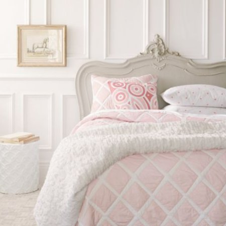 Serena And Lily Pink Diamond Quilt The Frog And The Princess