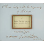 A New Baby Blue  Picture  Frame