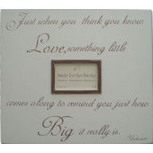 Big Love  Picture  Frame