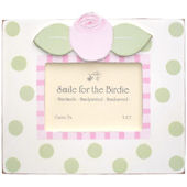 Dots with Roses  Picture  Frame