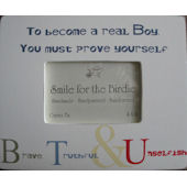 Real Boy  Picture  Frame