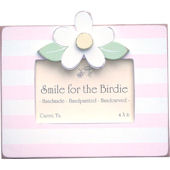 Striped Daisy Picture  Frame