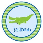 Alligator Guy Personalized Plate