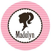 Barbie Inspired Personalized Plate