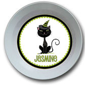 Halloween Black Cat Bowl