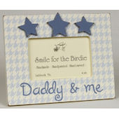 Daddy and Me With Stars  Picture Frame