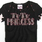 Tutu Princess Crystal Bling Tee Shirt