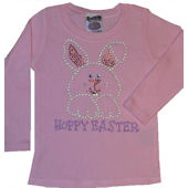 Hoppy Easter Bling Shirt