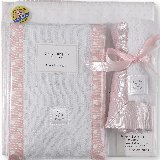SwaddleDesigns Pastel Pink Polka Dot Gift Set