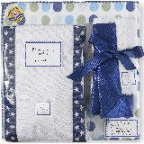 SwaddleDesigns Blue Stars Polka Dots Gift Set