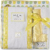 SwaddleDesigns Dots and Suns Gift Set