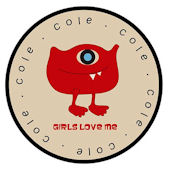 Valentines Monster Love Personalized Plate