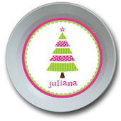 Whimsical Pink Tree Personalized Bowl