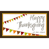 Sweet Madys Autumn Banner Placemat