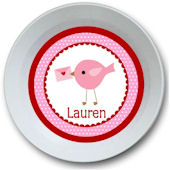 Sweet Madys Valentines Tweet Personalized  Bowl
