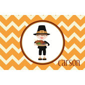 Sweet Madys Pilgrim Boy Placemat