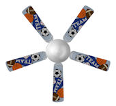 Sweet Pea Sports Pennant Ceiling Fan