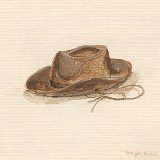 Childs Cowboy Hat Wall Art