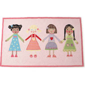 The Little Acorn Best Friends  Rug