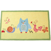 The Little Acorn Forest Friends  Rug