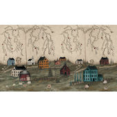 Grazing  Prepasted Wall Mural