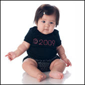 Twinkling Tees Copyright Birth Year  Bling Tee