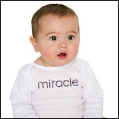 Twinkling Tees Miracle Bling Tee