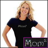 Mom or Mommy to the Nth Bling Tee