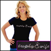 Trophy Wife with Ring Tee