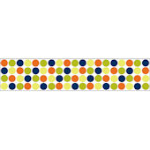 Wall Pops Lot Of Dots Blue Wall Sticker Stripes