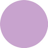 Wall Pops Purple Perk Set of  5 Dots