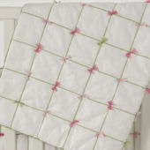 Whistle and Wink Tufted Crib Quilt