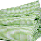 Gingham Check Duvet Cover Twin Multiple Colors