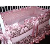 Whistle Stop Ava Marie  4 Piece Crib Set