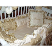 Whistle Stop Harmony Crib Pillow and Mobile