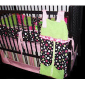 Whistle Stop Little Angel  4 Piece Crib Set