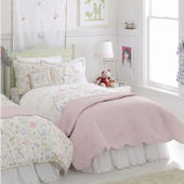 Princess Embroidered Duvet Cover Pink