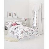 China Doll Black and White Toile Twin Duvet Cover