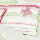 Butterfly Party Quilted Standard Sham