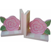 Wish Upon A Star Rose Bookends