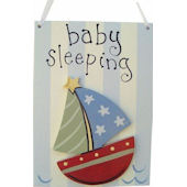 Wish Upon A Star Nautical Door Hanger