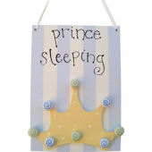 Wish Upon A Star Prince Door Hanger