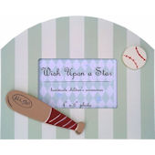 Wish Upon A Star Baseball Picture Frame