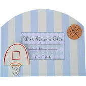 Wish Upon A Star Basketball Picture Frame