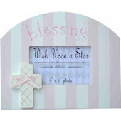 Wish Upon A Star Girls Blessing Picture Frame
