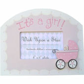Wish Upon A Star Its A Girl Picture Frame