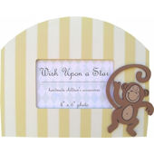 Wish Upon A Star Monkey Picture Frame