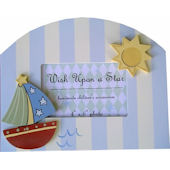 Wish Upon A Star Nautical Picture Frame